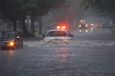 Chicago & Northwest Indiana hit with record rainfall last night!