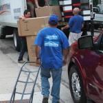 Guys at Perma-Seal Unloading Trucks