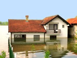 flood - house under water