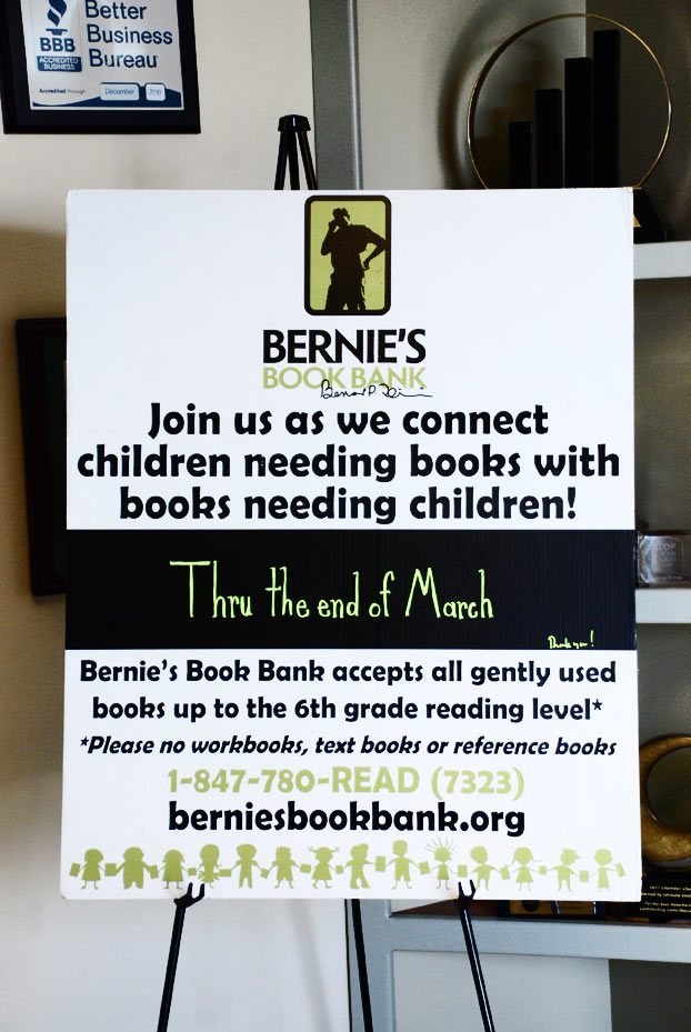 Perma-seal Teams up with Bernie's Book Bank to Collect Children's Books in March