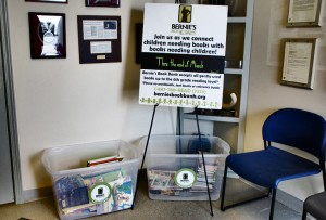 Bernie's Book Bank collects, processes and distributes quality new and gently used children's books to at-risk children all over Chicago and its suburbs with the intention of creating book owners and readers for a lifetime.