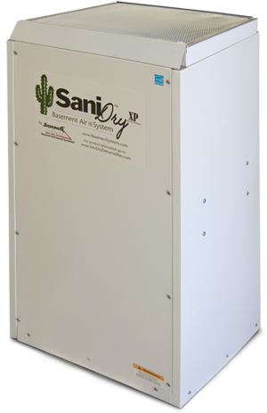 The SaniDry XP For Better Air In Your Basement and Home