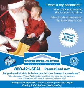 Perma-Seal Santa Ad