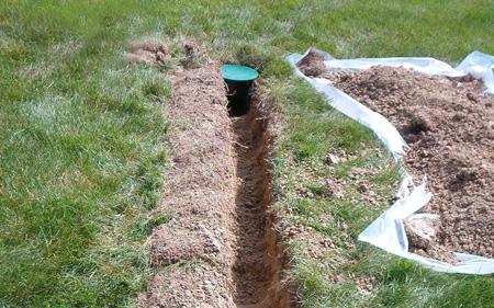 Yard Drainage Systems   800-421-7325   Perma-Seal